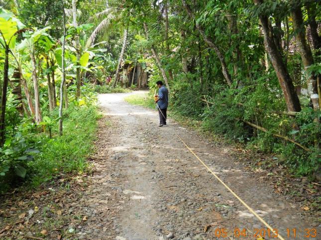 Pengukuran Jalan oleh TPD