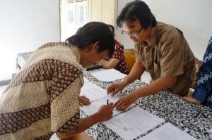 Penandatanganan SPK Desa Banaran