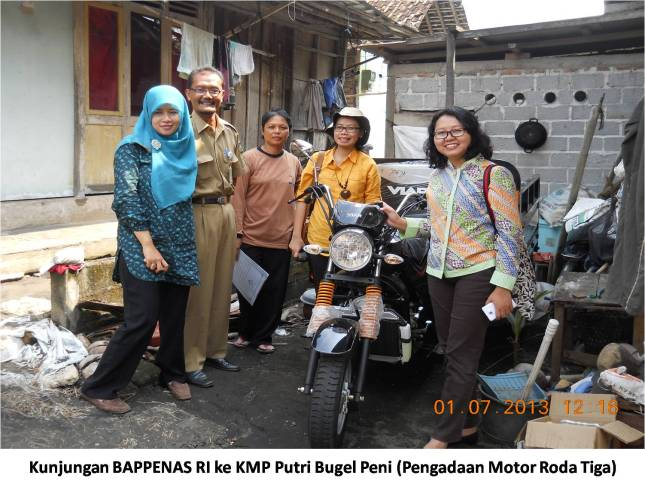 Kunjungan BAPPENAS RI ke KMP Putri Bugel Peni